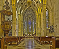 Bratislava - Main Nave Of St. Martin Cathedral From 15. Cent. Royalty Free Stock Image - 37775586