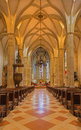 Bratislava - Main Nave Of St. Martin Cathedral From 15. Cent. Stock Photo - 37776400