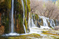 Waterfall In Winter Royalty Free Stock Photography - 37779467