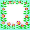 Flower Frame Royalty Free Stock Photography - 3780107