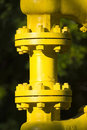 Junction In Industrial Pipe Royalty Free Stock Image - 3780496