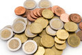 Euro Coins Royalty Free Stock Image - 3784336
