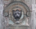 Stone Lion Head - Mexican Fountain Decoration Stock Photography - 37810582