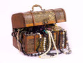 Chest And Treasures Royalty Free Stock Photography - 37846407