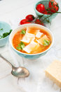 Lentil Minestrone Soup Royalty Free Stock Photography - 37853627