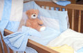 Baby Bed Royalty Free Stock Image - 37856596