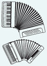 Music Instruments. Accordion Stock Images - 37858944