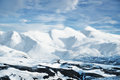Landscape From Iceland, Snow Capped Mountain Peaks Stock Images - 37860724