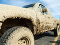 Muddy Pickup Truck Stock Photos - 37865223