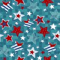 Stars Seamless Pattern. Drawing Hands Stock Images - 37879994