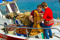 Fishing Together Royalty Free Stock Images - 37886619