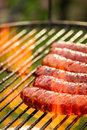 Sausage On The Grill Stock Images - 37894774