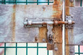 Door And Gates Lock Stock Photos - 37897643