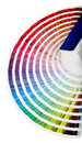 Color Guide Close-up Royalty Free Stock Photo - 3792575