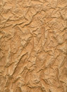 Wrinkled Sheet Of Brown Paper Royalty Free Stock Image - 3795966