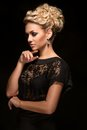Sweet And Charming Lady With Unknown Secrets Royalty Free Stock Photo - 37917595