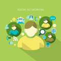 Social Networking Royalty Free Stock Photo - 37929075