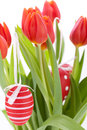 Colourful Red Easter Still Life Stock Photo - 37947450