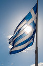 Greek Flag Stock Photography - 37981902