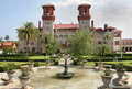 Spanish Historical Building St Augustine Florida Royalty Free Stock Images - 38008569