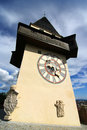 The Clock Tower In Graz Royalty Free Stock Images - 38060699