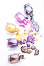 Bottles With Nail Polish Stock Images - 38064444
