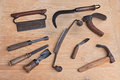 Old Wood Carving Tools Stock Photo - 38071410