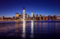Skyline Of Lower Manhattan Of New York City From Exchange Place Stock Images - 38075904