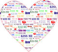 Art Valentine Heart Royalty Free Stock Images - 3811229