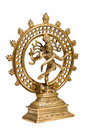 Statue Of Shiva Nataraja - Lord Of Dance Isolated Royalty Free Stock Photography - 3811607