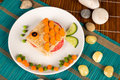 Fish Sandwich Royalty Free Stock Image - 38116786