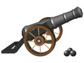 Ancient Cannon Stock Images - 38122304
