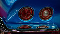 Chevy Corvette Stingray (C3) Taillights Stock Images - 38126684
