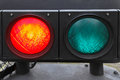 Red Traffic Light Royalty Free Stock Photo - 38150045