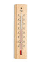 Indoor Thermometer Isolated On The White Royalty Free Stock Images - 38173499