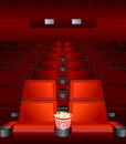 Movie Love-seat Stock Photography - 3825702