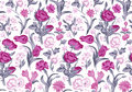 Light Romantic Seamless Vector Vintage Floral Pattern. Royalty Free Stock Photo - 38202975
