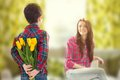 Spring Portrait Of Mother And Son On Mother S Day Stock Images - 38208594