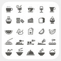 Food And Beverage Icons Set Stock Photos - 38213673