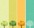Four Seasons - Spring, Summer, Autumn, Winter Royalty Free Stock Photos - 38220858