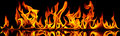 Fire And Flames. Stock Photography - 38230902