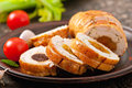 Chicken Roll Royalty Free Stock Image - 38246546
