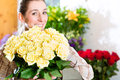 Female Florist In Flower Shop Stock Photography - 38249392