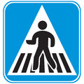 Pedestrian Crossing Royalty Free Stock Images - 38251789