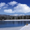 Monte Verde Lake, Angel Fire, New Mexico Stock Photography - 38281672
