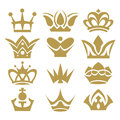 Crown Collection (crown Set, Silhouette Crown Set) Stock Photo - 38281800