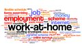 Work At Home Royalty Free Stock Photos - 38295138