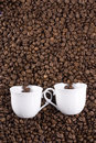Two Coffee Cups Stock Photos - 3838453