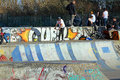 Youths At Skate Park Stock Image - 38300041