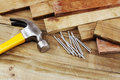 Hammer And Nails Stock Photo - 38302980